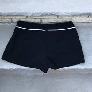 Black and white express shorts